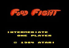 Food Fight title screenshot