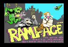 Rampage title screenshot