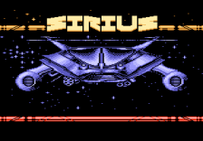 Sirius title screenshot