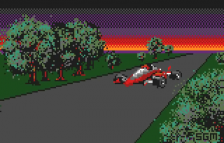 Checkered Flag title screenshot