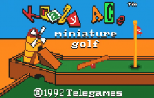 Krazy Ace Minature Golf title screenshot