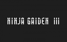 Ninja Gaiden III - The Ancient Ship of Doom title screenshot
