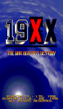 19xx title screenshot
