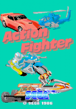Action Fighter title screenshot
