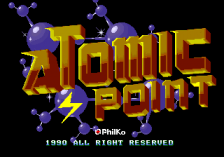 Atomic Point title screenshot