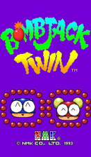 Bombjack Twin title screenshot