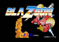 Blaze On title screenshot