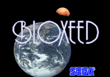 Bloxeed title screenshot
