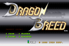 Dragon Breed title screenshot