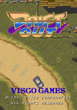 Drift Out title screenshot
