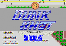 Dunk Shot title screenshot