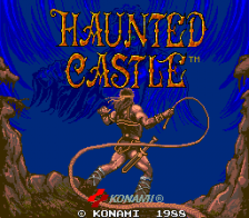 Haunted Castle title screenshot