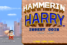 Hammerin' Harry title screenshot