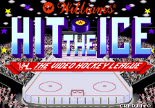 Hit the Ice title screenshot