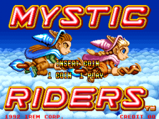 Mystic Riders title screenshot