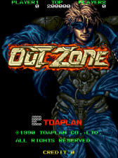 Out Zone title screenshot