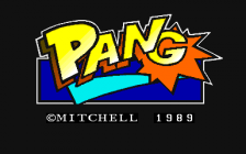 Pang ! title screenshot