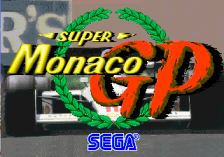 Super Monaco GP title screenshot