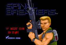 Spinal Breakers title screenshot
