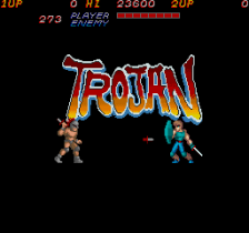 Trojan title screenshot