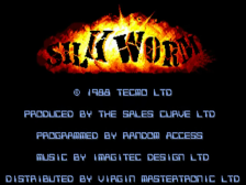 SilkWorm title screenshot