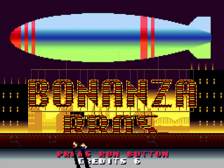 Bonanza Bros. title screenshot