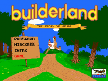 Builderland - The Story of Melba title screenshot