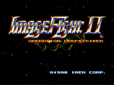 Image Fight 2 - Operation Deepstriker title screenshot