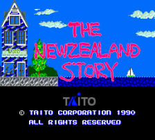 New Zealand Story, The title screenshot