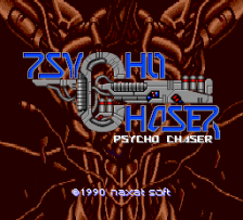 Psycho Chaser title screenshot