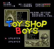 Toy Shop Boys title screenshot