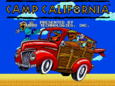 Camp California title screenshot