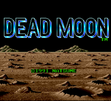 Dead Moon title screenshot