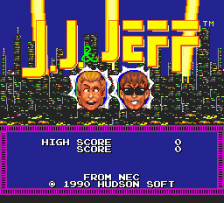 J.J. & Jeff title screenshot
