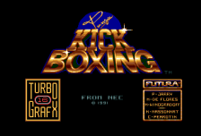 Panza Kick Boxing title screenshot