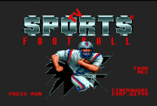 TV Sports Football title screenshot