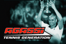 Agassi Tennis Generation title screenshot