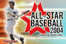 All-Star Baseball 2004 title screenshot