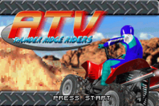 ATV - Thunder Ridge Riders title screenshot