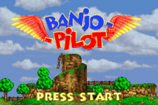 Banjo Pilot title screenshot