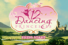 Barbie in the 12 Dancing Princesses title screenshot