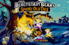 Berenstain Bears and the Spooky Old Tree, The title screenshot