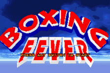 Boxing Fever title screenshot