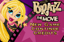 Bratz - The Movie title screenshot