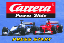 Carrera Power Slide title screenshot