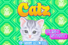 Catz title screenshot