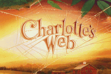 Charlotte's Web title screenshot