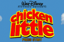 Chicken Little title screenshot