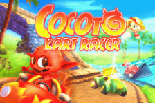 Cocoto - Kart Racer title screenshot