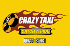 Crazy Taxi - Catch a Ride title screenshot